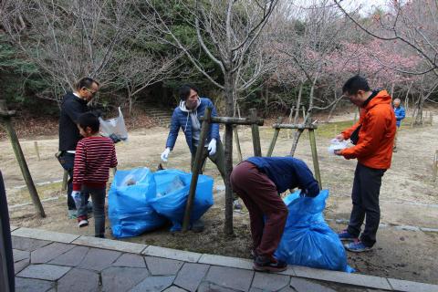 北山公園清掃登攀_e0069822_16172634.jpg