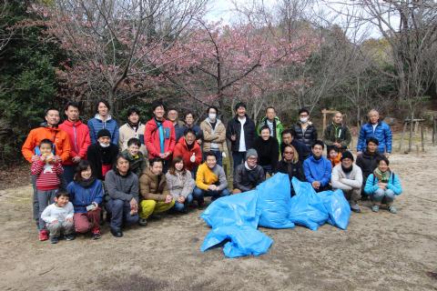 北山公園清掃登攀_e0069822_16173463.jpg