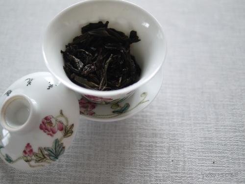 注目されている作り手の岩茶をいただく_a0169924_15543451.jpg