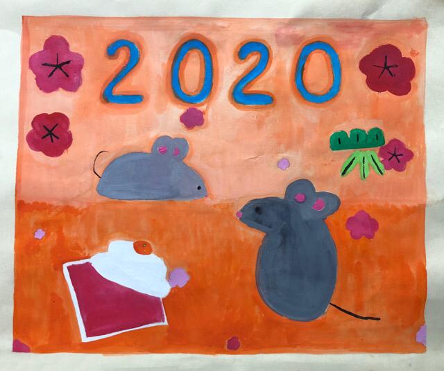 稲沢教室、児童コース、カレンダー完成作品2_f0373324_10415369.jpg