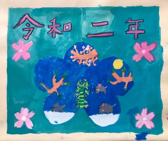 稲沢教室、児童コース、カレンダー完成作品2_f0373324_10415766.jpg