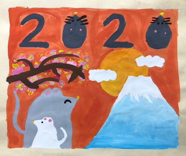 稲沢教室、児童コース、カレンダー完成作品2_f0373324_10415922.jpg