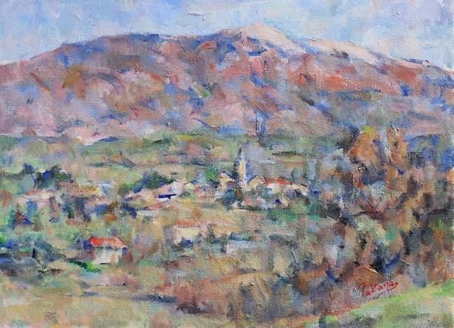 ヴァントゥー山とマザンの村_c0236929_22272211.jpg