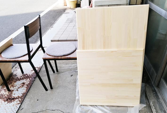 天板をのせるだけ☆ローテーブルを簡単リメイク_d0351435_05384028.jpg