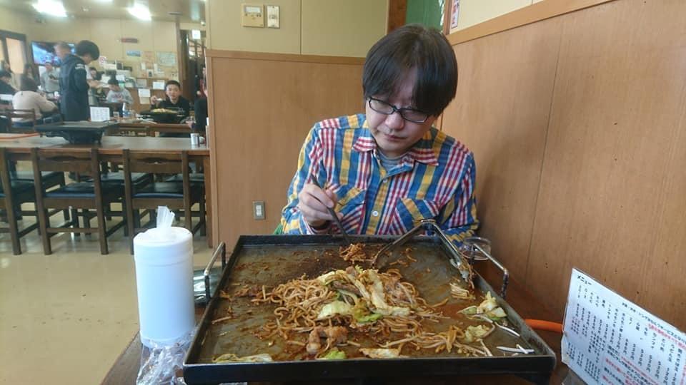 亀山市のグルメ。みそ焼きうどん!美味しい!_f0373339_12384253.jpg