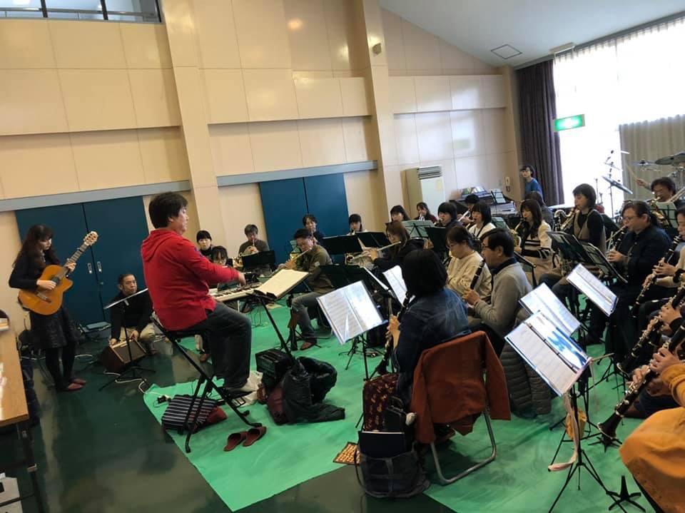 亀山市吹奏楽団さんとのリハーサルでした。_f0373339_13242290.jpg