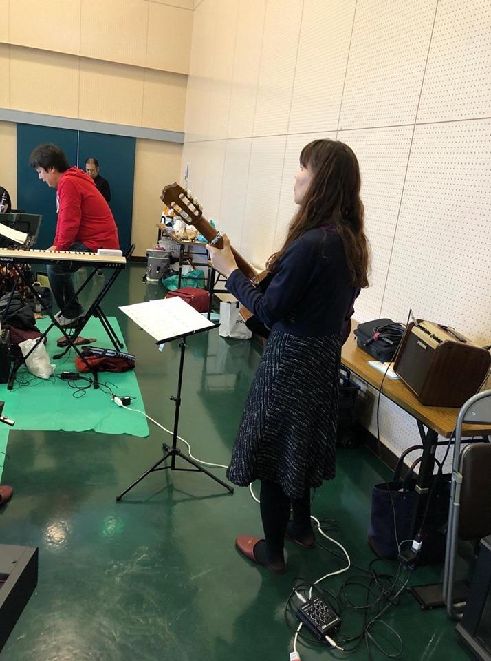 亀山市吹奏楽団さんとのリハーサルでした。_f0373339_13420131.jpg