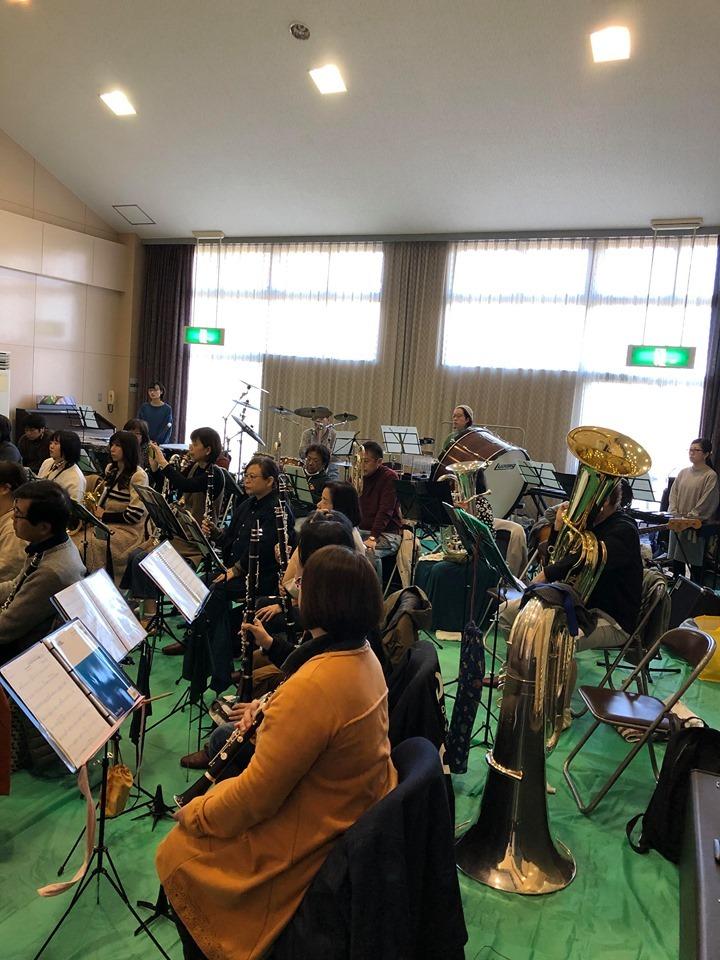 亀山市吹奏楽団さんとのリハーサルでした。_f0373339_13420255.jpg