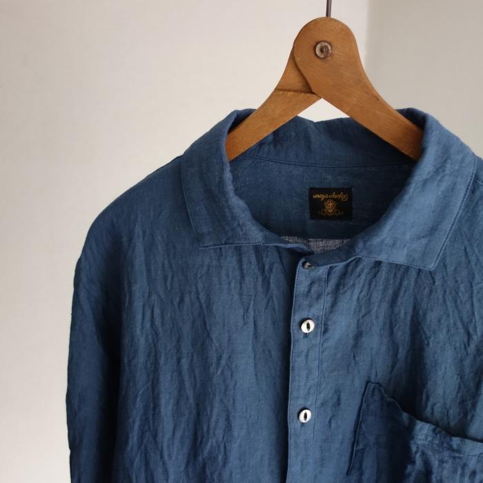 5月の製作 / DA linen easy shirt_e0130546_17445630.jpg