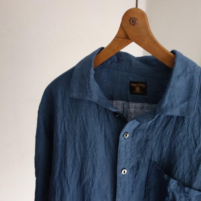 5月の製作 / DA linen easy shirt_e0130546_17451810.jpg