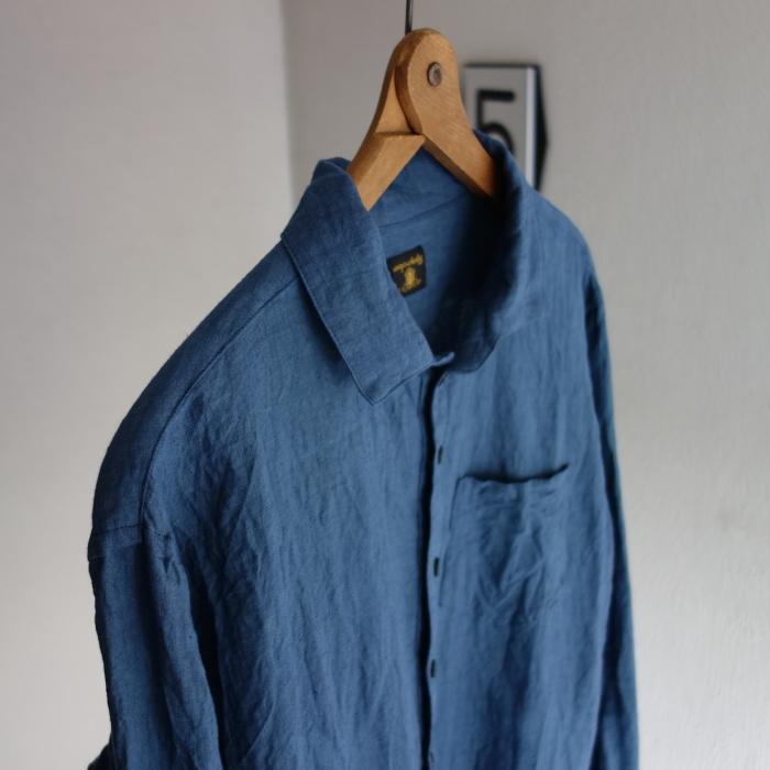 5月の製作 / DA linen easy shirt_e0130546_17453363.jpg