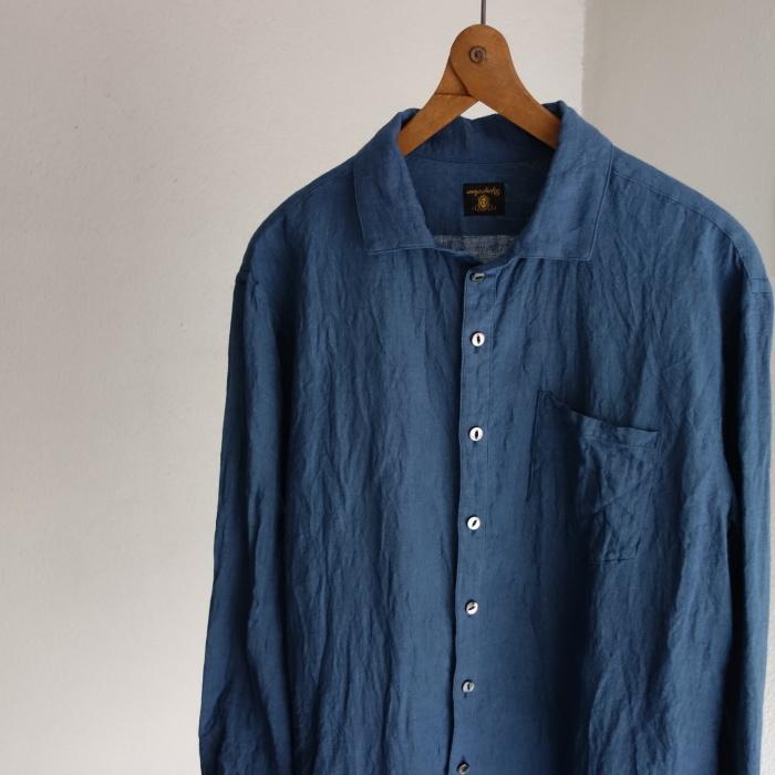 5月の製作 / DA linen easy shirt_e0130546_17460506.jpg