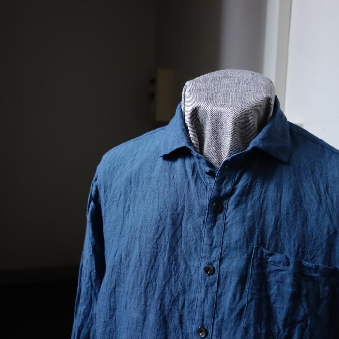 5月の製作 / DA linen easy shirt_e0130546_17492846.jpg