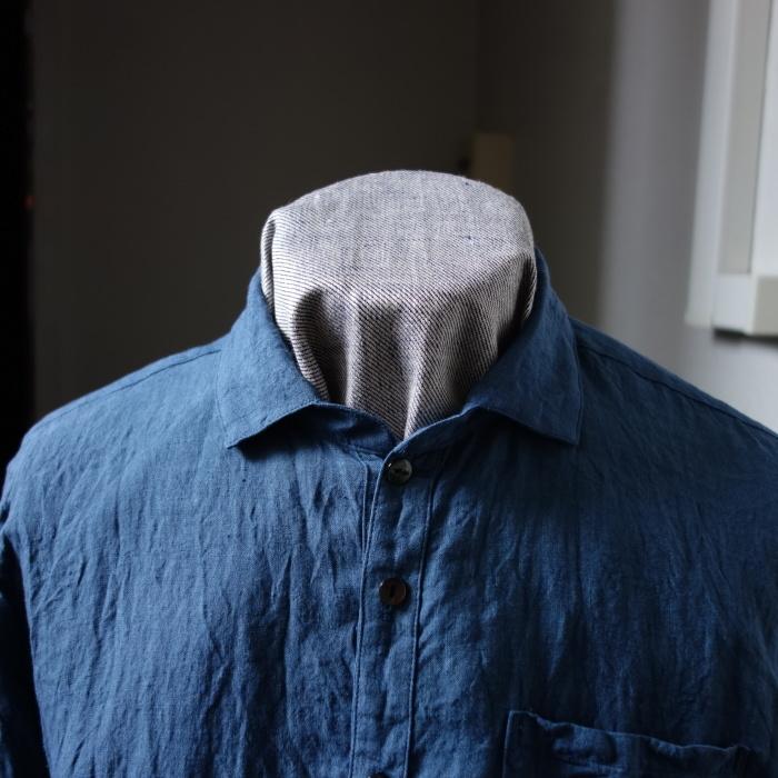 5月の製作 / DA linen easy shirt_e0130546_17500364.jpg