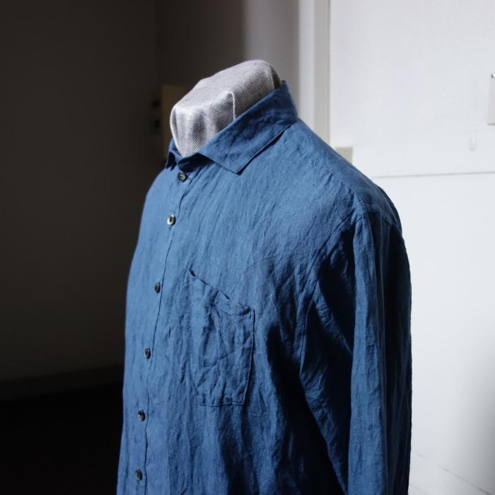 5月の製作 / DA linen easy shirt_e0130546_17502773.jpg