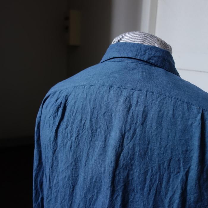5月の製作 / DA linen easy shirt_e0130546_17510730.jpg