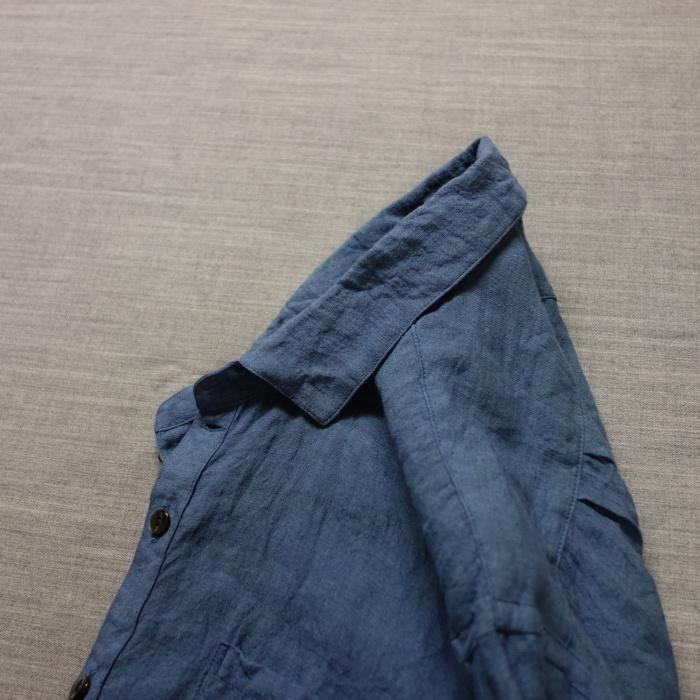 5月の製作 / DA linen easy shirt_e0130546_17543817.jpg