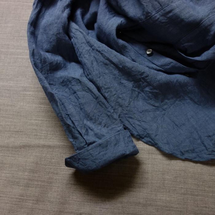 5月の製作 / DA linen easy shirt_e0130546_17554794.jpg