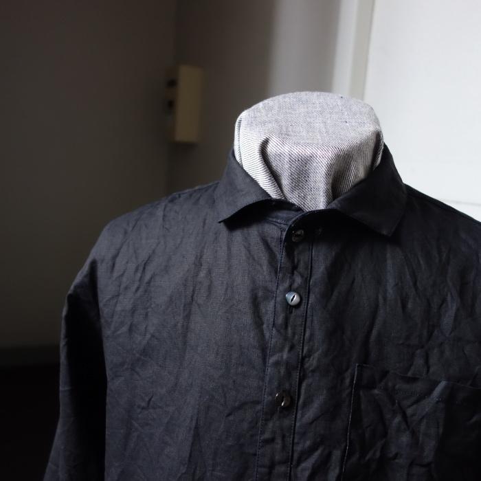 5月の製作 / DA indigolinen easy shirt by dealer made [別注品]_e0130546_17580984.jpg