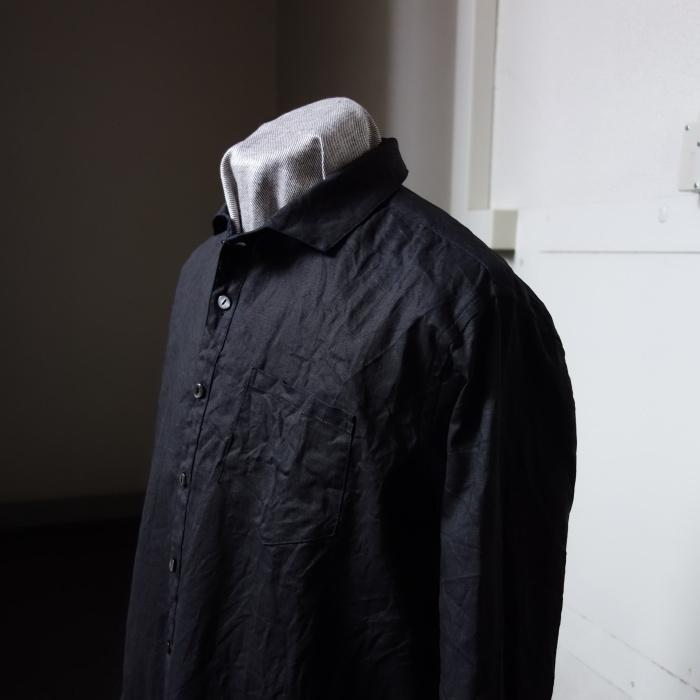 5月の製作 / DA indigolinen easy shirt by dealer made [別注品]_e0130546_17583076.jpg