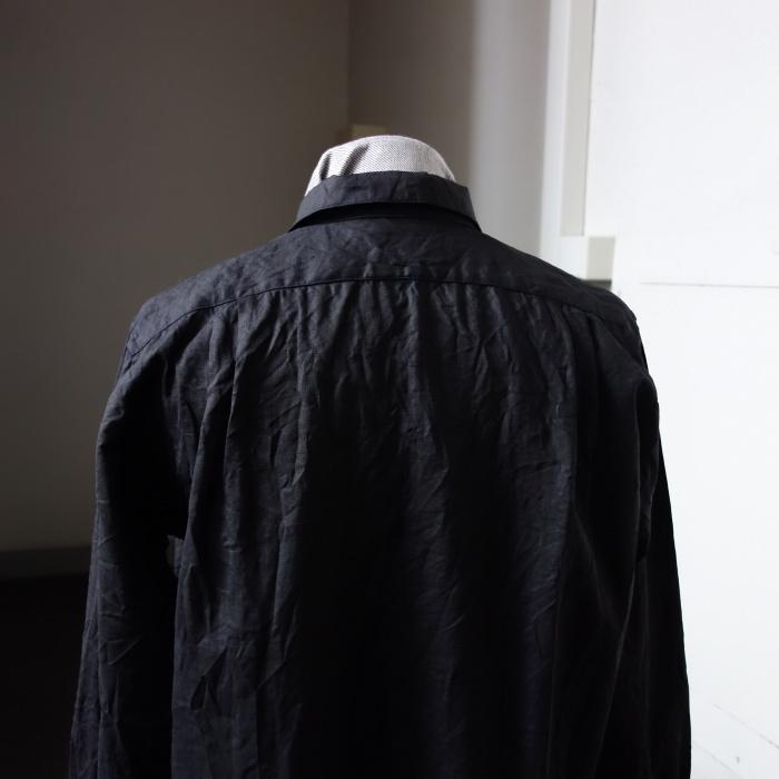 5月の製作 / DA indigolinen easy shirt by dealer made [別注品]_e0130546_17590013.jpg