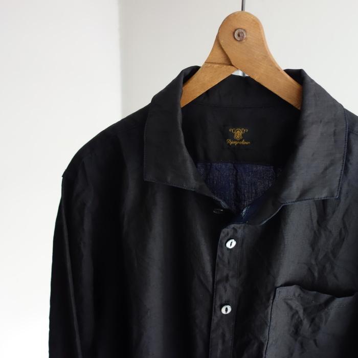 5月の製作 / DA indigolinen easy shirt by dealer made [別注品]_e0130546_17593655.jpg