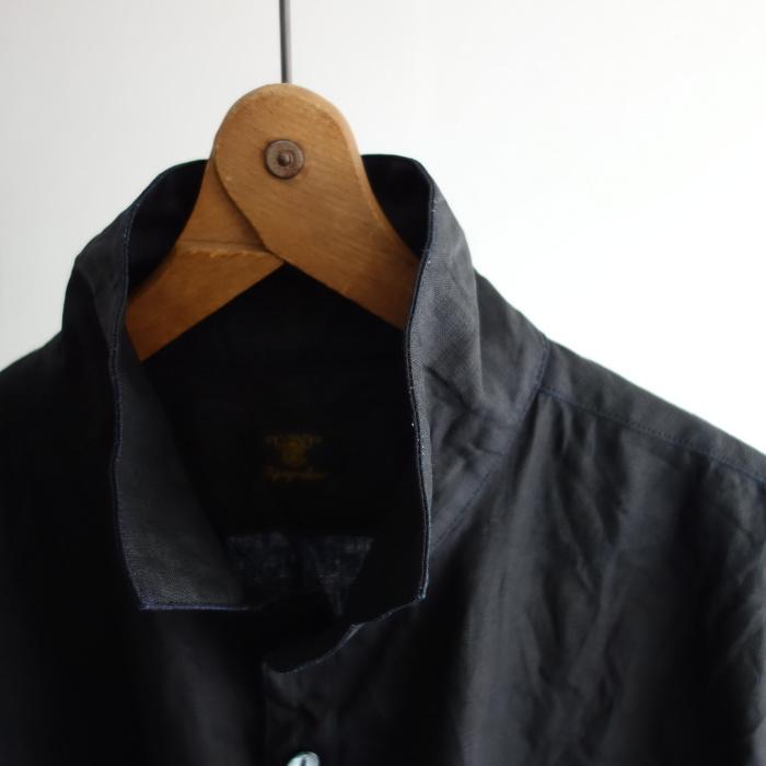 5月の製作 / DA indigolinen easy shirt by dealer made [別注品]_e0130546_17595152.jpg