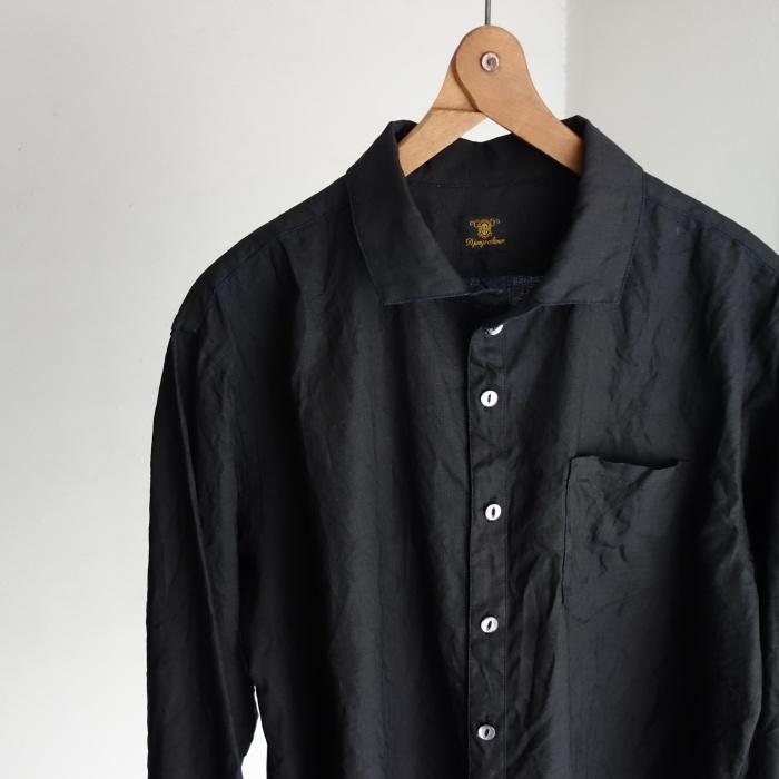 5月の製作 / DA indigolinen easy shirt by dealer made [別注品]_e0130546_18000941.jpg