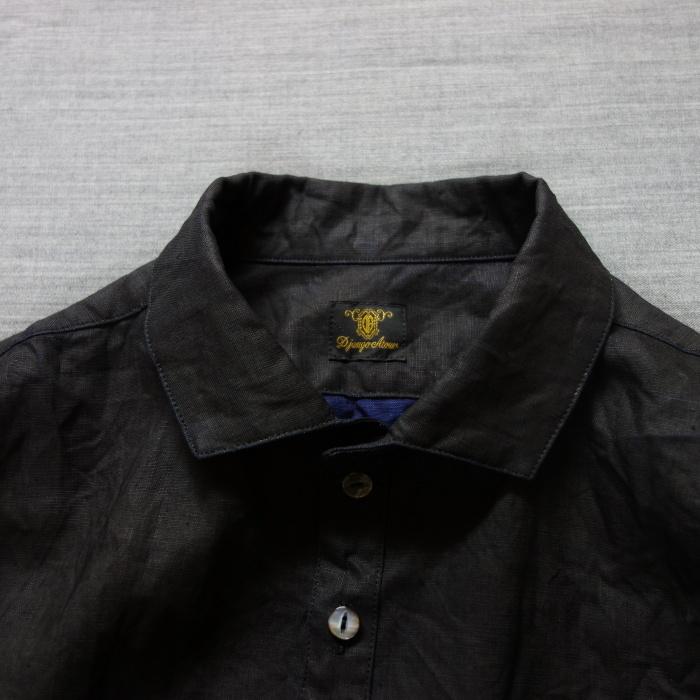 5月の製作 / DA indigolinen easy shirt by dealer made [別注品]_e0130546_18022209.jpg