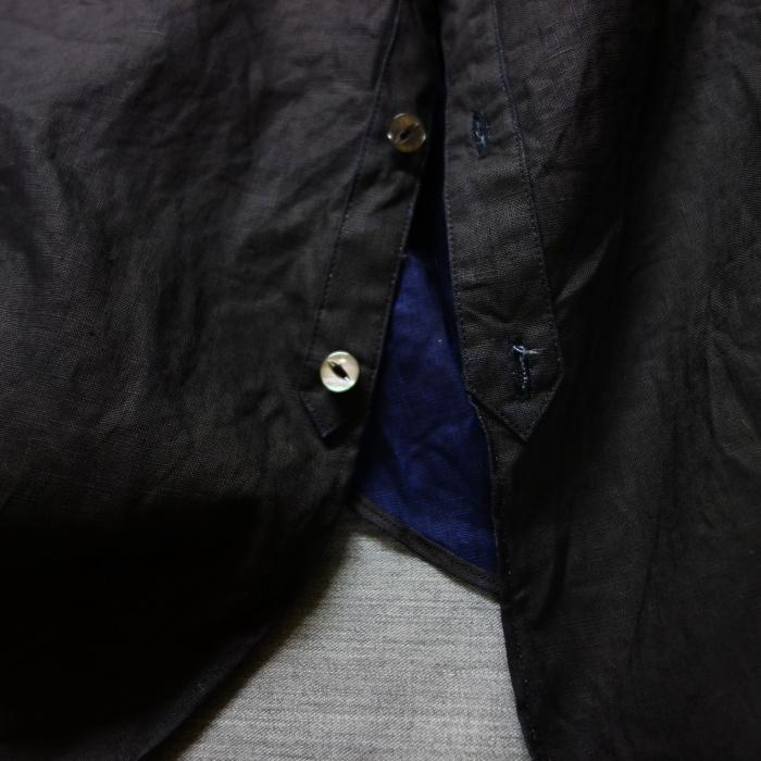 5月の製作 / DA indigolinen easy shirt by dealer made [別注品]_e0130546_18030946.jpg