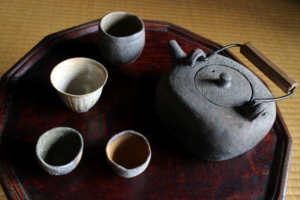 タナカ シゲオ 陶展 本日より_a0279848_16453846.jpg