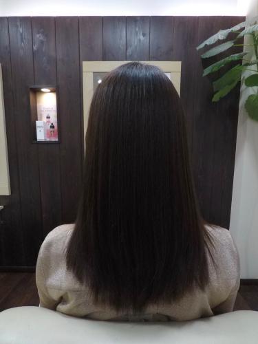 美髪ストレート♪_d0220957_12423860.jpg
