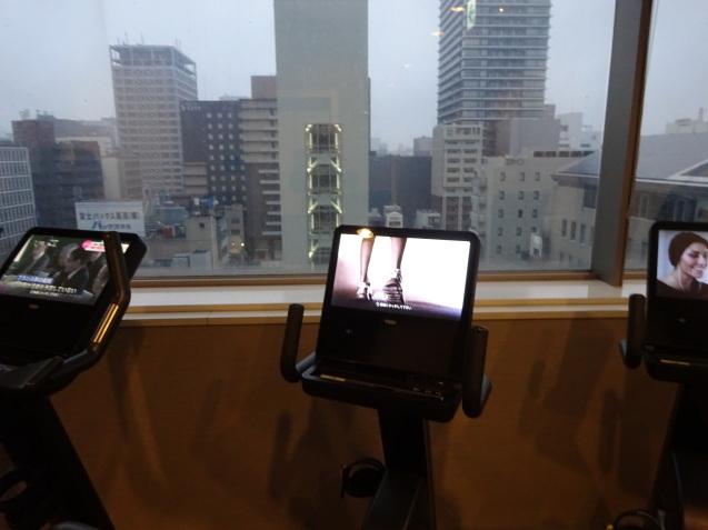 奥さんの名古屋 ~ 「ヒルトン名古屋」の続き、ラウンジ朝食、フィットネス_b0405262_20545657.jpg