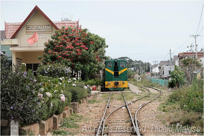 インドシナ周遊の旅 Ⅱ(17)ダラット(2)観光列車_c0122685_18222176.jpg