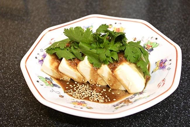 黒酢の肉団子とよだれ豆腐_a0223786_14254681.jpg