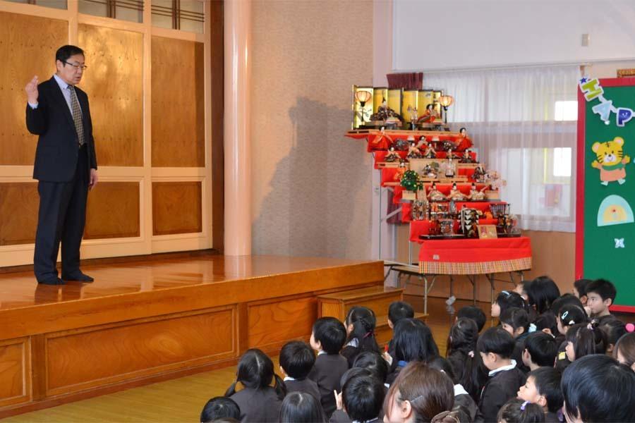 お誕生会、第一幼稚園_d0353789_10355150.jpg
