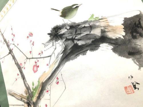 竹内栖鳳が描いた春_e0122611_23361720.jpg