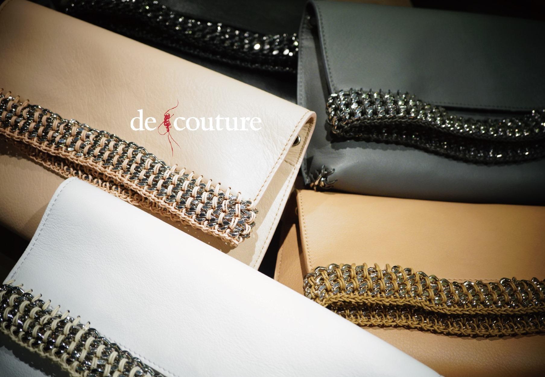 de couture 新作3WAYクラッチ_b0115615_14582030.jpg