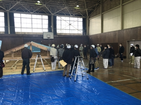 災害時の応急仮設住宅の講習会を実施しました。_a0059217_11411627.jpg