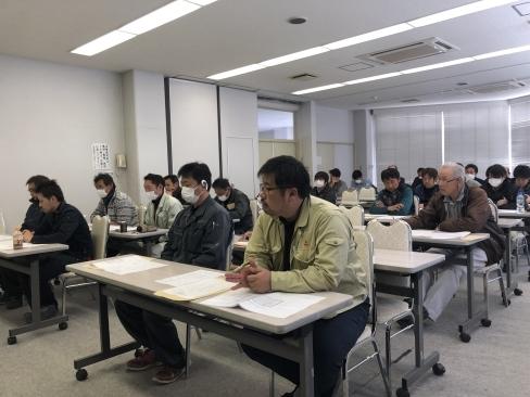 災害時の応急仮設住宅の講習会を実施しました。_a0059217_11421098.jpg
