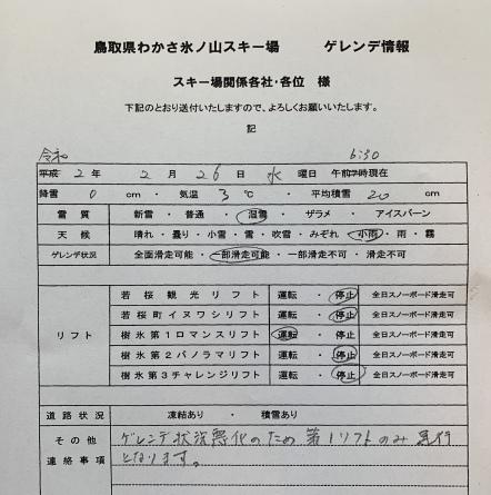 2月26日(水)ゲレンデ情報!_f0101226_07352320.jpeg