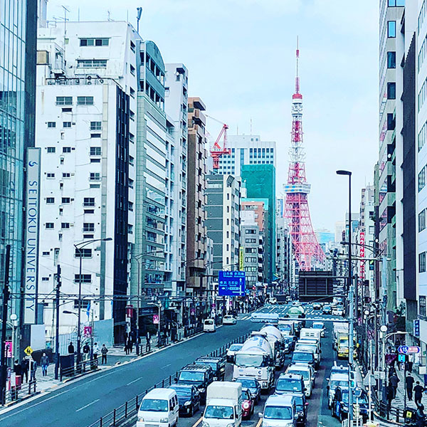 東京タワー / 駐在クウェート大使館 / iPhone 8_c0334533_16004620.jpg