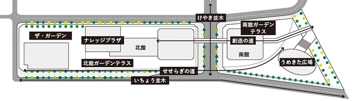 グランフロント大阪 せせらぎの道_c0112559_08153977.jpg