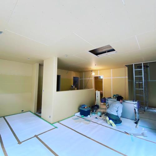 愛知県豊橋市H様 新築住宅工事その4 仕上げ工事開始_c0180474_21562940.jpg