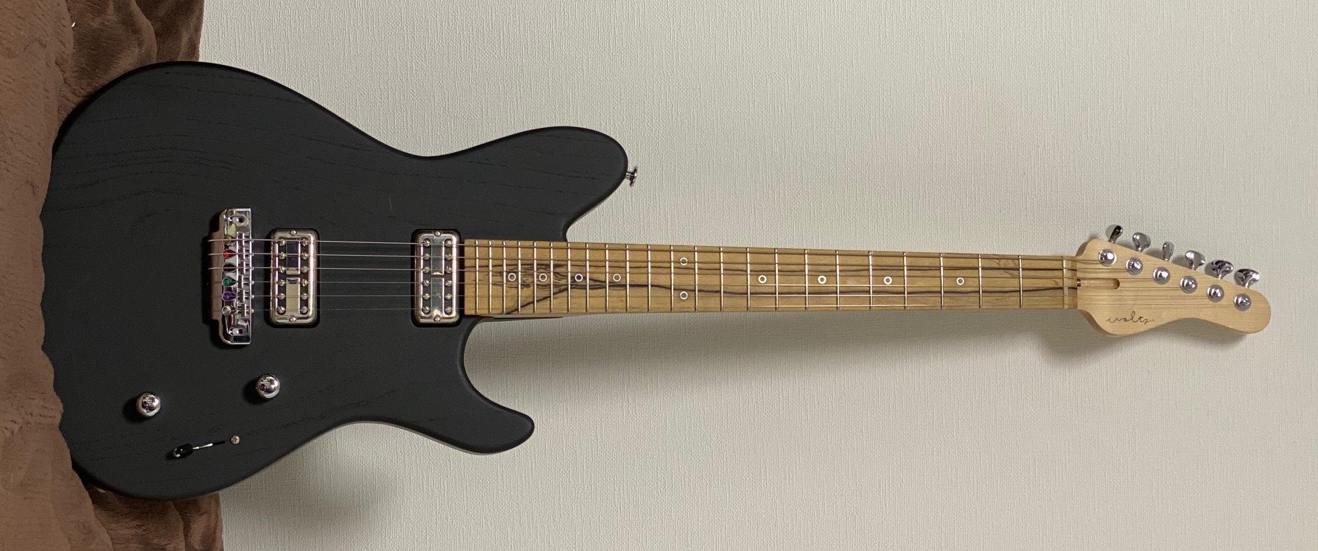 """Waltz Guitars""""N3 inkblack""""_e0052576_23392492.jpg"""