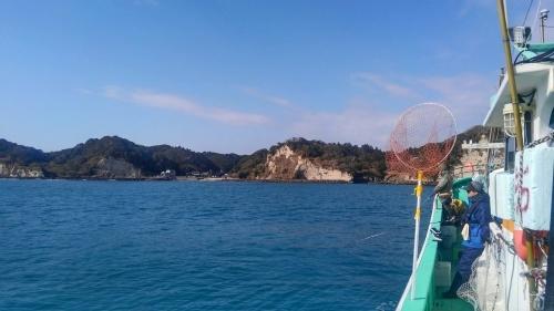 毎年恒例釣り初め_f0069890_01084345.jpg