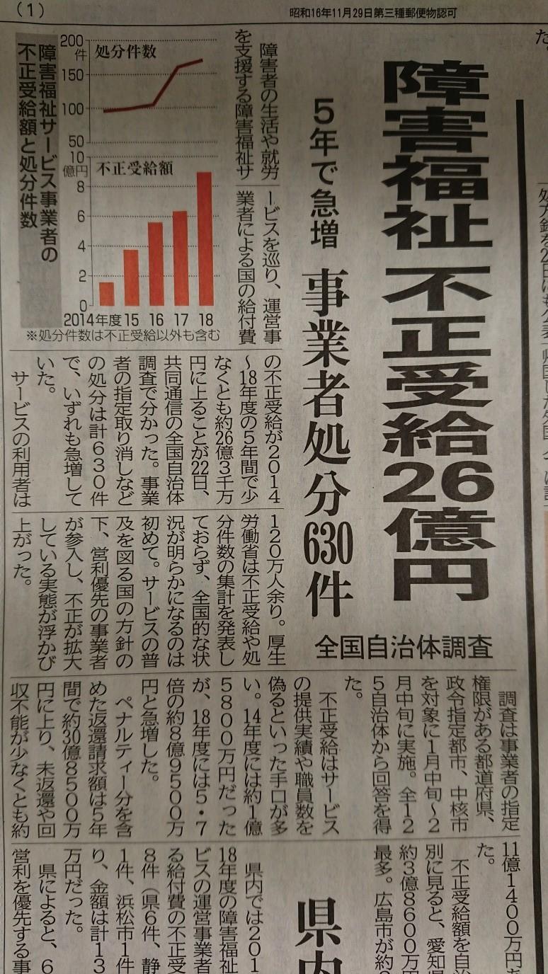 2/26  社会福祉法人はいい迷惑_e0185893_07421026.jpg