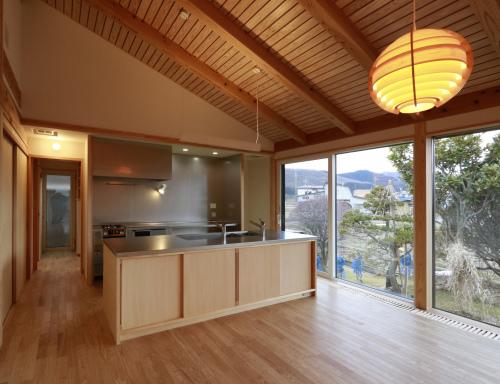 Q1住宅L2二ツ井:キッチン_e0054299_17550828.jpg