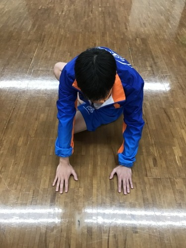体を整えるために柔軟性を高める(準備運動⑫)_d0358103_16490325.jpg
