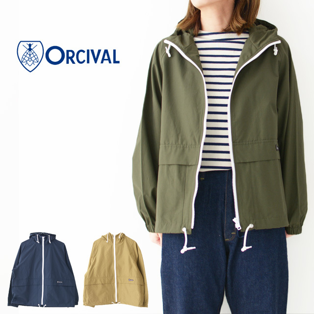 ORCIVAL[オーチバル・オーシバル] W 60/40 CLOTH JACKET [RC-8054 NNC] 60/40 マウンテンパーカー・LADY\'S _f0051306_16563065.jpg